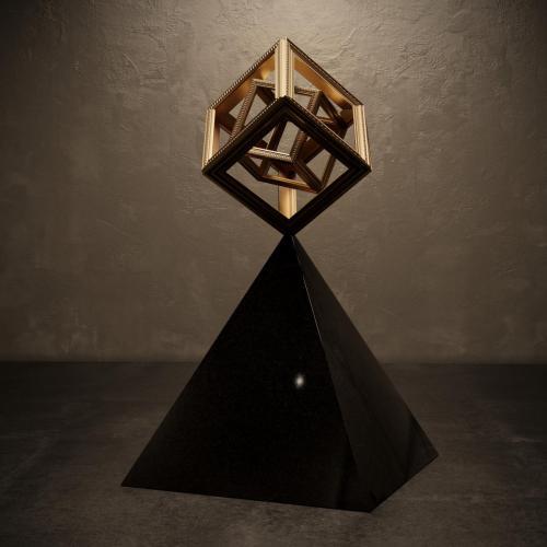подставка пирамида